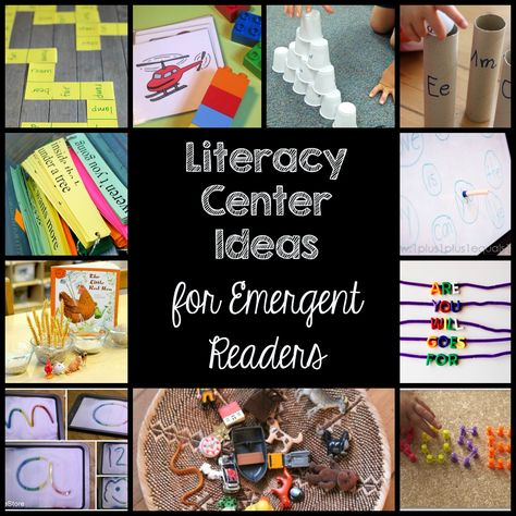 Ten Literacy Ideas for Emergent Readers | Education to the Core