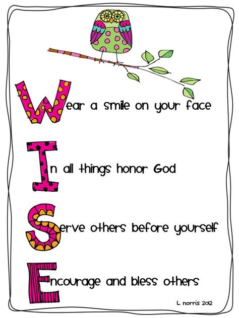 A good word as you head back to school, my wise owl. Wise Owls-Posters & Writing: My Gift to You! Sunday School Classroom, Owl Theme Classroom, School Bulletin Boards, Classroom Ideas, Classroom Teacher, Kindergarten Classroom, Classroom Organization, The Words, Owl Quotes