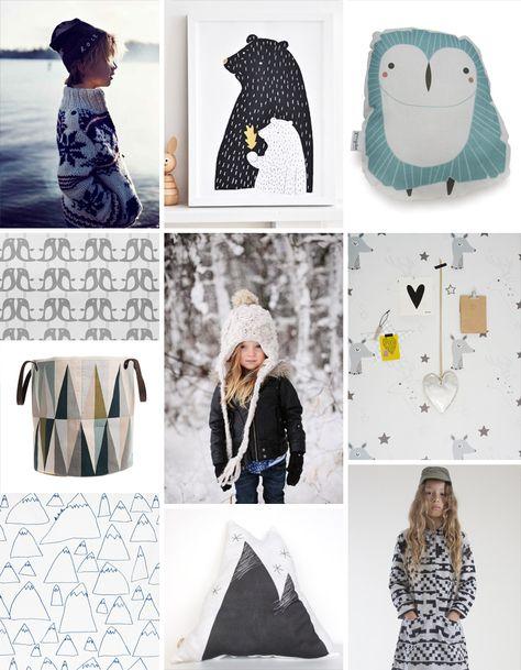 Pattern Observer children's trend - nordic ice