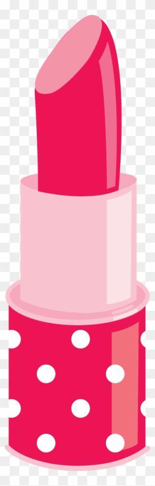 Spa Party Clip Art Cute Lipstick Clipart Png Download Spa Party Clip Art Cute Lipstick