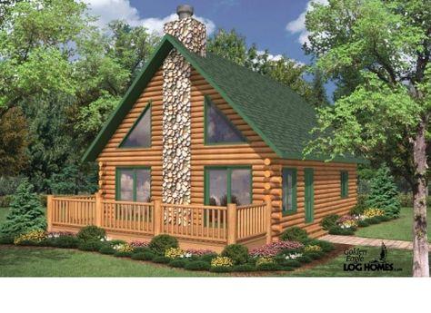 Case Di Tronchi Di Legno : Case di legno e tronchi per la casa di programmi di pavimento