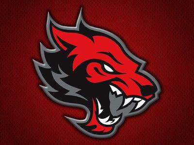 Conrad Redwolves Binatang Logo Keren Hewan