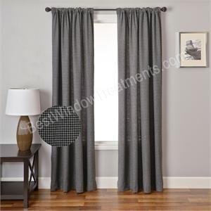Gentlemen Plaid Curtain Drapery Panel | Www.bestwindowtreatments.com |  Plaid Curtains, Drapery Panels And Window