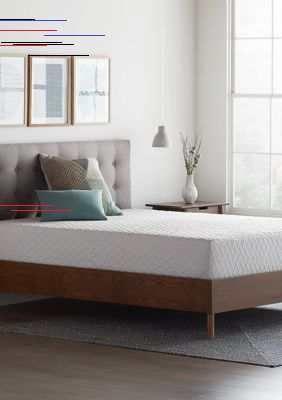 Lucid Dream Collection 10 In Gel Memory Foam Mattress In 2020 Modern Home Furniture Foam Mattress Memory Foam Mattress Topper