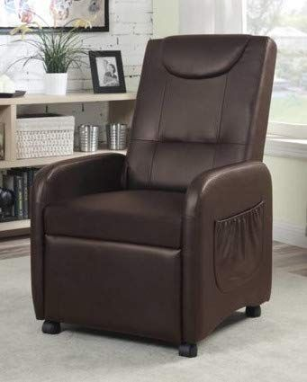 Recliners For Small Spaces-Bedroom Chairs for Adults - Brown ...