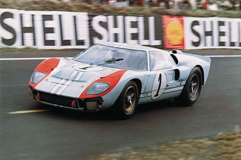 Ford Mkii Scalextric 1 24 Heures Du Mans 1966 Ford Gt40 Ford Gt