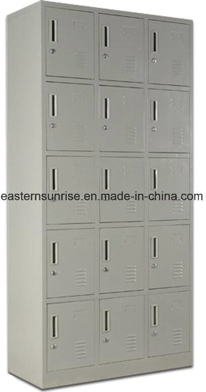 Hot Item 15 Door School Storage Wardrobe Steel Metal Iron Lockers In 2020 School Storage Steel Metal Lockers