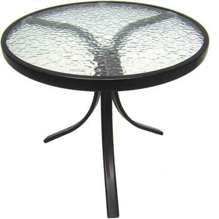 mainstays round glass patio table 20