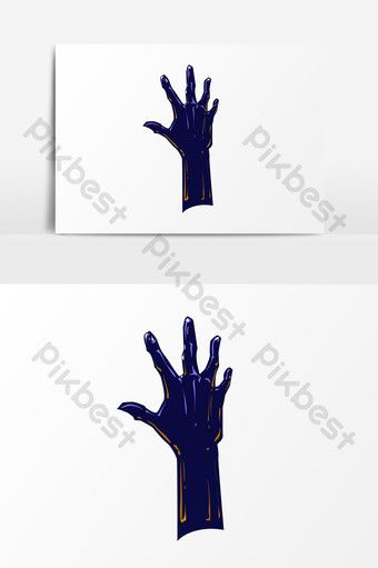 Scary Zombie Hand Psd Elements Png Images Psd Free Download Pikbest Zombie Hand Psd Halloween Poster
