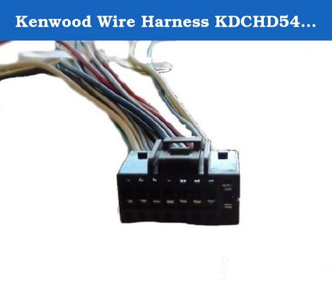 Kenwood Wire Harness Kdchd548u Kdcx395 Kdcx695 Kdc Video Games