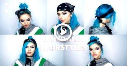 Short Curly Hair Bandana Bandana Hairstyles Short Headbands For Short Hair Headband Hairstyles