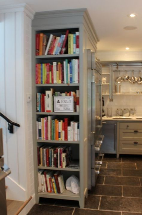 Great idea for the side of a cabinet in lieu of a panel.    The Inn at Little Pond Farm – part one » Talk of the House