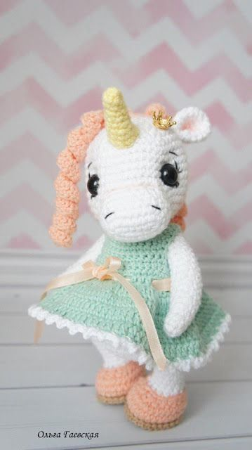 Unicorn crochet amigurumi - Step by Step - YouTube | 640x359