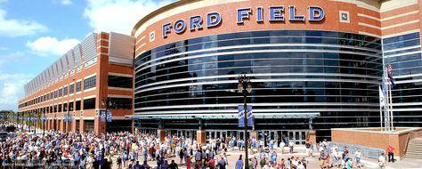Ford Field Detroit Detroit Lions Nfl Capacity 65 000 Stadium Arena Detroit Ford