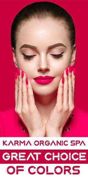 Karma Organic Spa Great Choice Of Colors Organic Spa Music Poster Design Beautiful Girl Face