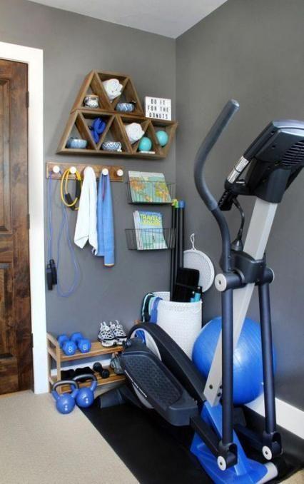 Workout Equipment Storage Workout Equipment Storage Workout Room Home Gym Room At Home Small Home Gyms