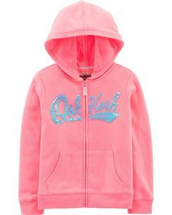 OshKosh Girls Flip Sequin Pullover Sweatshirt