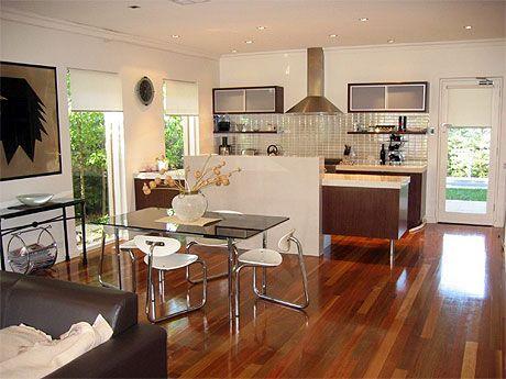 american kitchen and living room design kitchen Pinterest