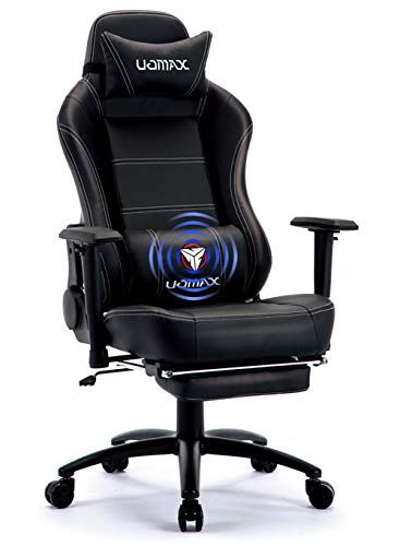 Uomax Gaming Chair Big And Tall Ergonomic Rocking Desk Chair For