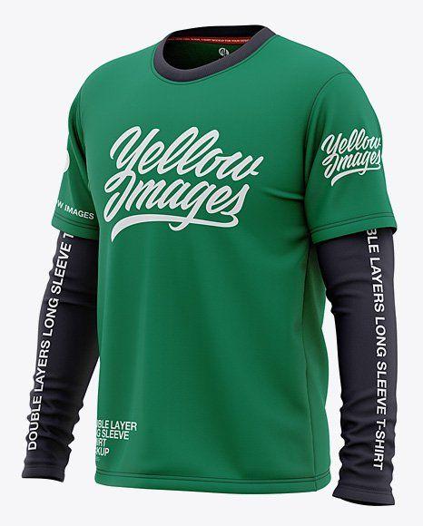 Download Long Sleeve Jersey Mockup Clothing Mockup Shirt Mockup Long Sleeve Jersey