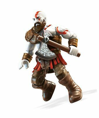 Mega Construx Heroes Wave Series 4 God Of War Kratos Figure