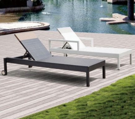 Sezlong Pentru Terasa Piscina Outdoor Decor Sun Lounger Home Decor