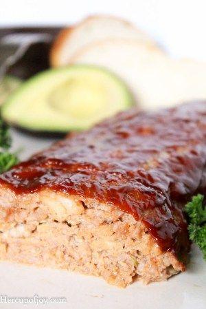 Juicy Barbecue Pork Meatloaf Her Cup Of Joy Recipe Pork Meatloaf Ground Pork Recipes Recipes