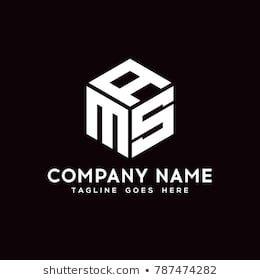 Ams Logo Symbol Vector Business Symbol Element Eps10 Desenhos