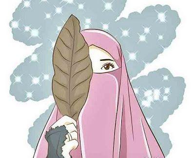 Gambar Kartun Muslimah Cantik Anime Muslim Islamic Cartoon Hijab Cartoon