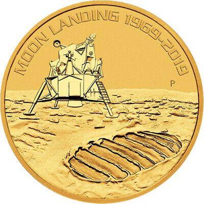2019 1 Oz Australian Anniversary Of The Moon Landing Gold Coin Bu Ebay Gold Coins Moon Landing American Eagle Gold Coin