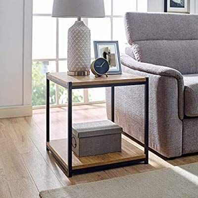 End Table By Aaron Furniture Designs, Tall Side Tables Living Room