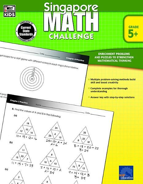 Singapore Math Challenge Grades 5 8 Ebook Download Ebook Pdf Download Epub Audiobook Title Singapore Math Challen Math Challenge Singapore Math Math