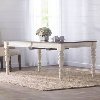 Tiphaine Extendable Dining Table Reviews Birch Lane Wood