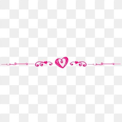 Heart Pattern Division Line Love Pink Dividing Line Frame Dividing Line Pattern Creative Minimalist Dividing Line Png Transparent Clipart Image And Psd File Graphic Design Background Templates Heart Hands Drawing