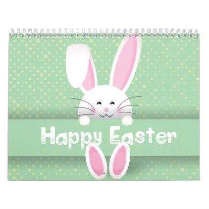 Calendar Calendar Cute Easter Bunny Easter Cards Handmade Easter Wallpaper