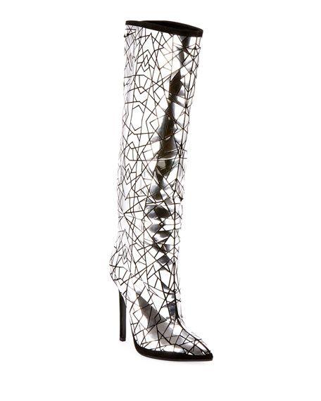 Knee Boots   Balmain boots, Knee boots