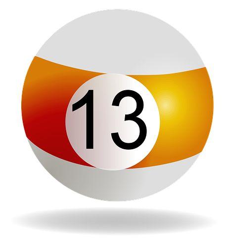 Billiard Ball Orange 13 Pool Billiard Billiards Billiard Balls Free Billiards