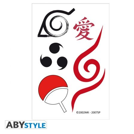 15x10 cm One Piece ABYstyle Tattoos