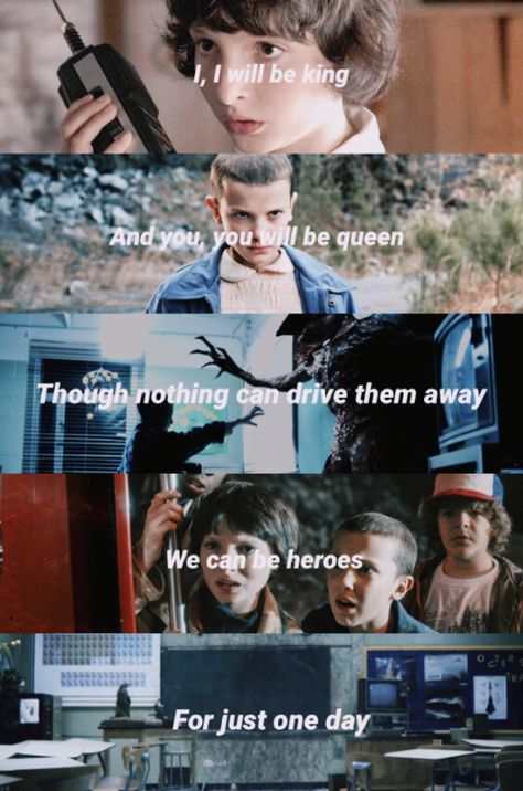 Heroes x Mike and Eleven