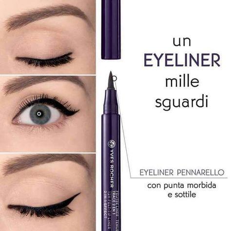 → Eyeliner Pennarello in offerta a €9,95 La punta pennarello morbida e sottile,per un'applicazione precisa e la massima comodità di utilizzo!