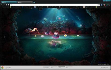 New Life Google Chrome Theme Wallpapers Computer