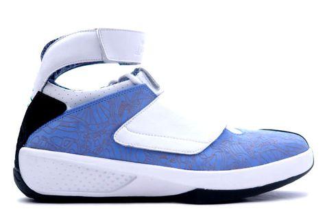 14272f775f83 Kixclusive - Air Jordan 20 University Blue   White
