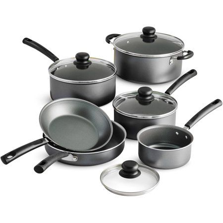 Tramontina Primaware Non Stick Cookware Set 10 Piece Walmart Com Cookware Set Nonstick Cookware Cookware Set Stainless Steel