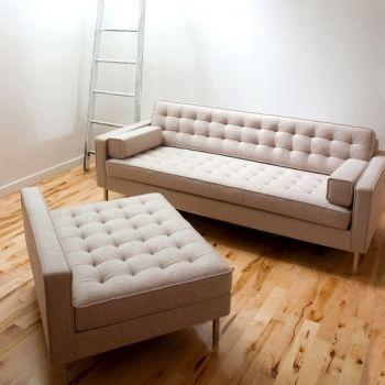 Spencer Loft Bi Sectional Modern Sofa Sectional Bisectional Sofa Gus Modern