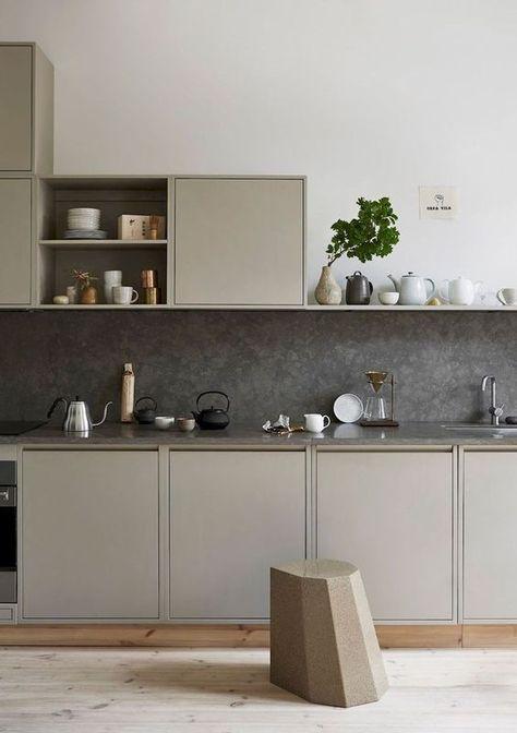 440 Idees De Cuisines Taupes Lin En 2021 Cuisine Taupe Cuisine Moderne Cuisines Design