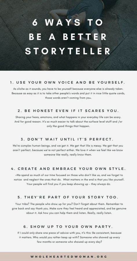 6 Ways To Be A Better Storyteller | Personal Growth & Development | Creative Writing |Authenticity | Blogging | Wholehearted Woman | How To Share Your Story Online | Branding