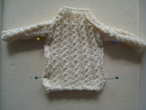 Best Barbie Knits: How to Make a Mock Cable