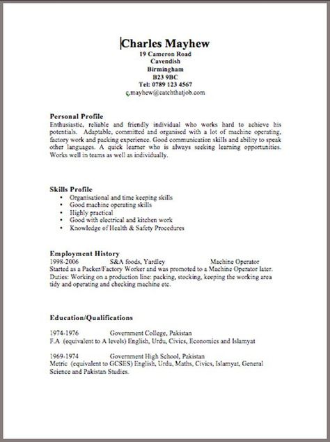 BestResumeFormat  Resume Cv Design    Resume Format