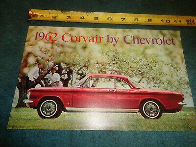 Advertisement Ebay 1962 Chevrolet Corvair Sales Brochure Original Dealership Catalog In 2020 Chevrolet Corvair Chevrolet Sales Brochures