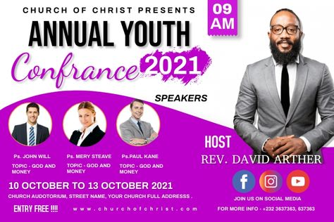 Annual youth confrence
